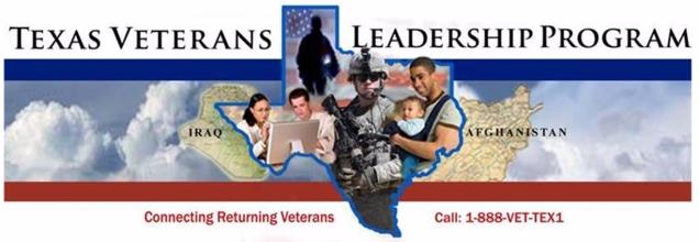TWC Texas Veterans Leadership Program Logo